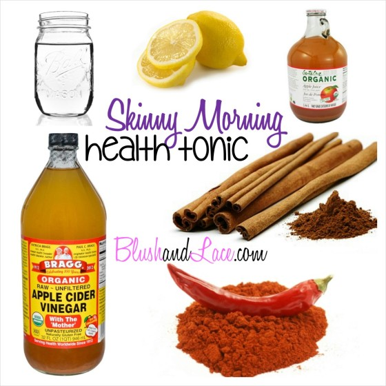 Skinny Morning Health Tonic Blush and Lace